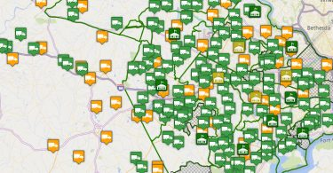 VDOT Snow Plowing Map - Featured