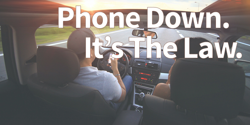 Virginia's New Law - illegal to hold a phone while driving