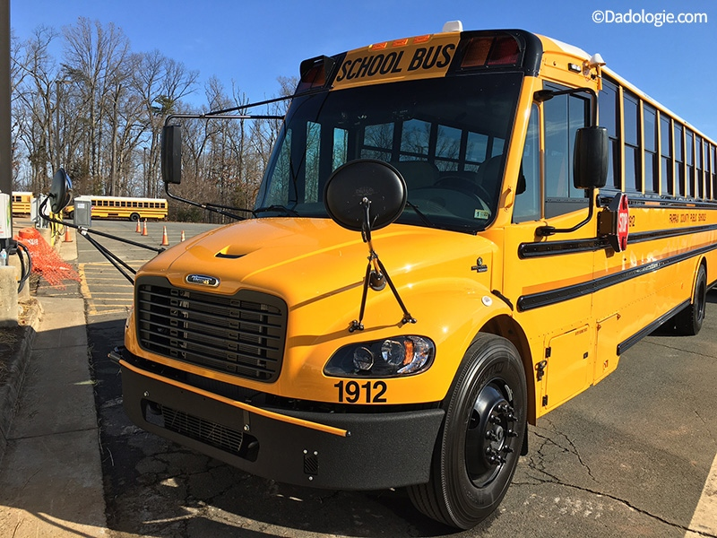 FCPS Thomas Electric Bus